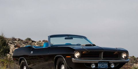 This 'Cuda convertible will probably be one of the biggest sellers at this year's auction.