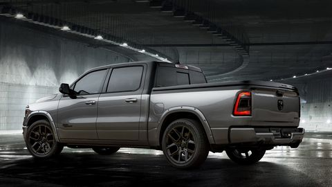 The Low Down concept is based on the Ram 1500 Big Horn, and is meant to show off street style.