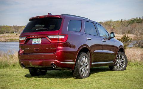 The Durango in Citadel trim offers a plush interior and plenty of power.