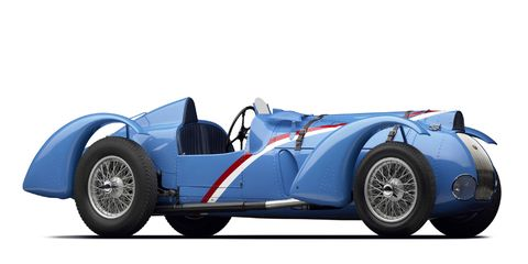 The Million-Franc Delahaye Type 145 will race at the Rolex Monterey Motorsports Reunion.