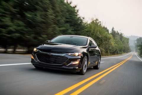 The 2019 Chevy Malibu RS is the same old Malibu with bits of bling all over it.
