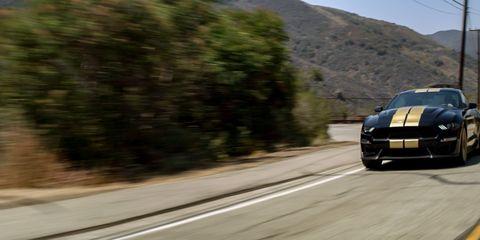 The 2019 Shelby GT gets the Mustang Bullitt's upgraded V8 making 480 hp.