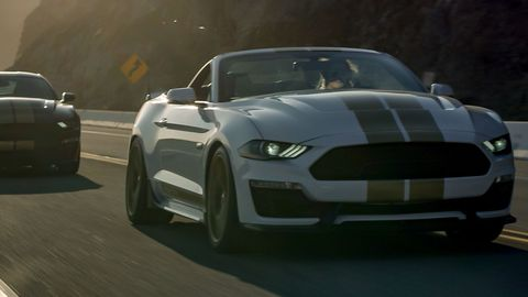 The 2019 Shelby GT was introduced the day before the 2018 Woodward Dream Cruise.