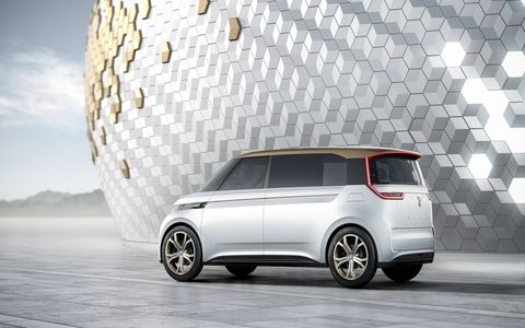 The Volkswagen Budd-e concept should show what a connected car will be.