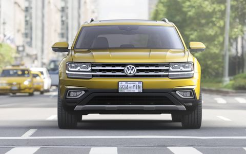 The 2018 VW Atlas 3-row SUV