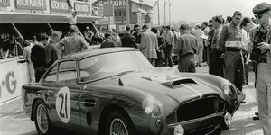Introduced in 1959, the DB4 GT saw success as a race car in its time. Aston Martin will produce 25 more of the coupes in the desirable lightweight specification; the cost is around $1.9 million each. Vintage cars are shown here, but if Aston does its job, you won't be able to tell the difference without checking the serial number.