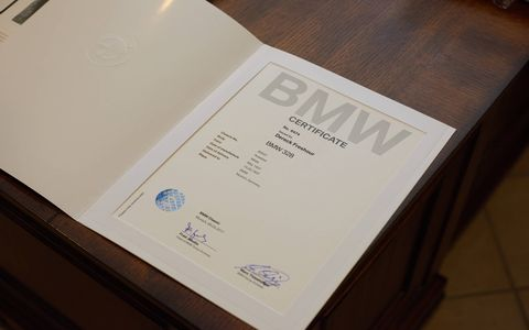 BMW certified the car to be No. 85031.