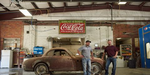"""Dereck Freshour and Heath Rodney describe themselves as """"Budweiser-in-a-can farm boys""""."""