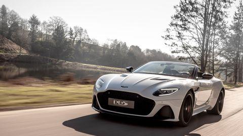 The 2020 Aston Martin DBS Superleggera Volante goes on sale in Q3 2019.