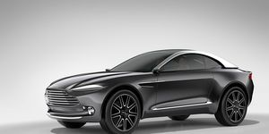 Would you buy an electric Aston Martin? What if it was a crossover? And what it it was built in the United States?