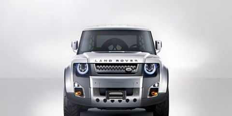 The new Defender is said to have very little in common with the concepts that have been shown over the last few years, including the DC100 concept seen in Frankfurt in 2011.