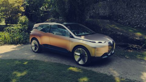 The BMW Vision iNext looks to be about the size of a current X5 SUV.