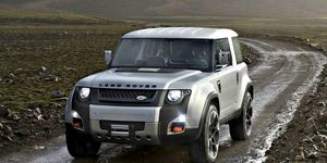 The Land Rover DC100 Concept was supposed to tease the upcoming Defender, but the company is reportedly going in a different direction.