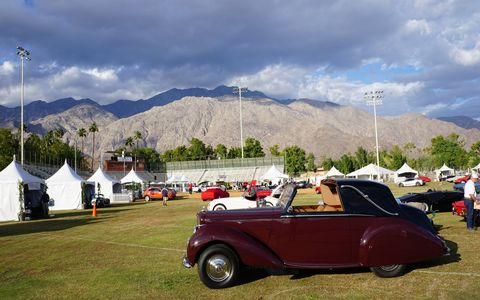 Desert Concorso promises to become a week-long winter destination event for car enthusiasts worldwide. This was only its second year.