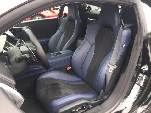The Acura now has an option for orange brake calipers and a blue Indigo interior trim. The 573 hp engine remains the same.