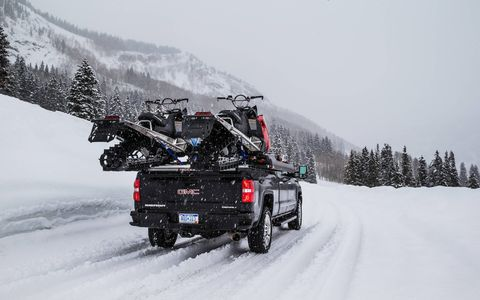 Sierra HD just haul snow machines across tundra...