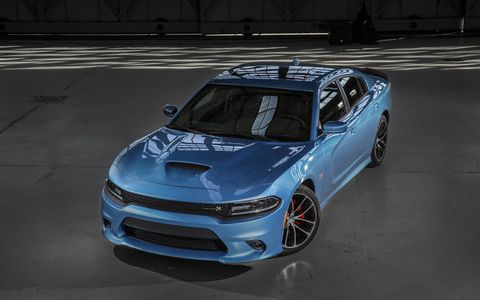 Paired to the all-new TorqueFlite eight-speed automatic transmission, the Dodge Charger R/T Scat Pack includes four-cylinder mode Fuel Saver Technology.