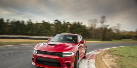 The Dodge Charger Hellcat: a sensible family sedan with a 204-mph top speed.