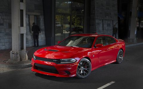 The Charger SRT is a muscle car, but with four doors.