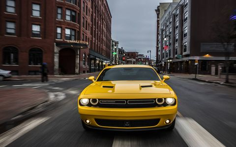 The Dodge Challenger GT features Dodge's high-performance all-wheel-drive system. Also found in the Charger AWD, this system includes an active transfer case and front-axle disconnect for excellent all-season performance and fuel economy.
