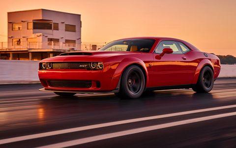 2018 Dodge Challenger SRT Demon at the Dragstrip, its Home