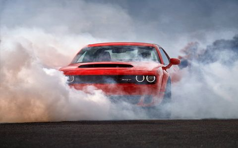 2018 Dodge Challenger SRT Demon Copious Burnouts