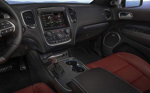 2018 Dodge Durango SRT interior