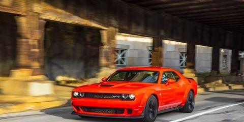 2018 Dodge Challenger SRT Hellcat Widebody on the Road