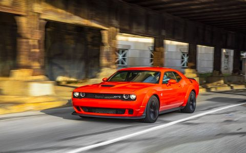 2018 Dodge Challenger SRT Hellcat Widebody on the Road
