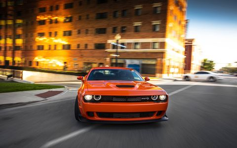 2018 Dodge Challenger SRT Demon on the Road