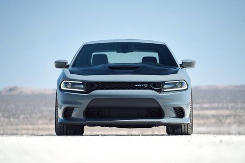 The 2019 Dodge Charger SRT still comes with a 485-hp V8.