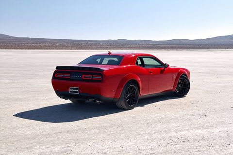 The 2019 Dodge Challenger Scat Pack now offers a Widebody version.