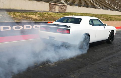 The 2019 Dodge Challenger R/T Scat Pack 1320 can do the quarter mile in 11.7 seconds at 115 mph.