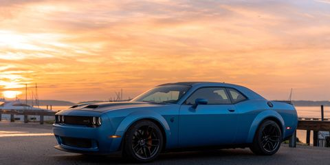 The 2019 Dodge Challenger SRT Hellcat Redeye Widebody packs a version of the supercharged 6.2-liter V8 found in the Demon. Here, it makes 797 hp -- and it makes that high output shockingly driveable.