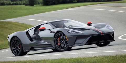 The Ford GT Carbon Series drops 40 pounds from the base car with lighter wheels, exhaust, lug nuts and more.