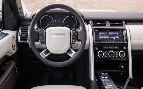 Interior features include 3G Wi-Fi, an available Meridian 17-speaker sound system, as many as six 12-volt outlets and nine USB sockets.