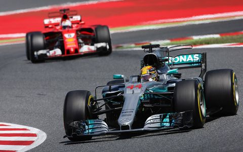 Sights from Sunday's 2017 Spanish Grand Prix.