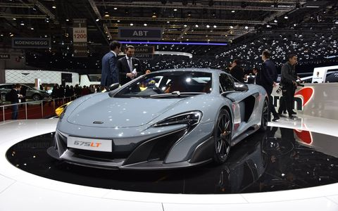 Only 500 examples of the limited-edition McLaren 675LT will be produced in Surrey.
