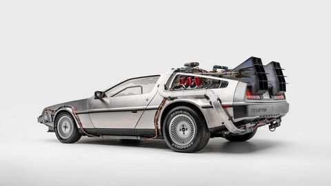 "DeLorean DMC 12 from ""Back to the Future."""