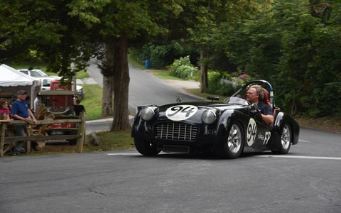 Vintage sports cars converged on a tiny island in Lake Erie for the ninth annual Put-in-Bay Road Races Reunion. Held August 27-30, 2017, the Reunion was a wheel-to-wheel celebration of South Bass Island's motorsports heritage. Today's competitors race on the island's airport rather than on public roads, but the spirit of the original event endures.