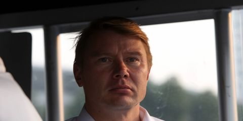 Mika Hakkinen has returned to McLaren's F1 team as a marketing ambassador.