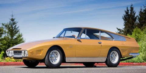 """Piergo Drogo's shop was commissioned to build the Navarro Special, also known as the """"Golden Car."""""""