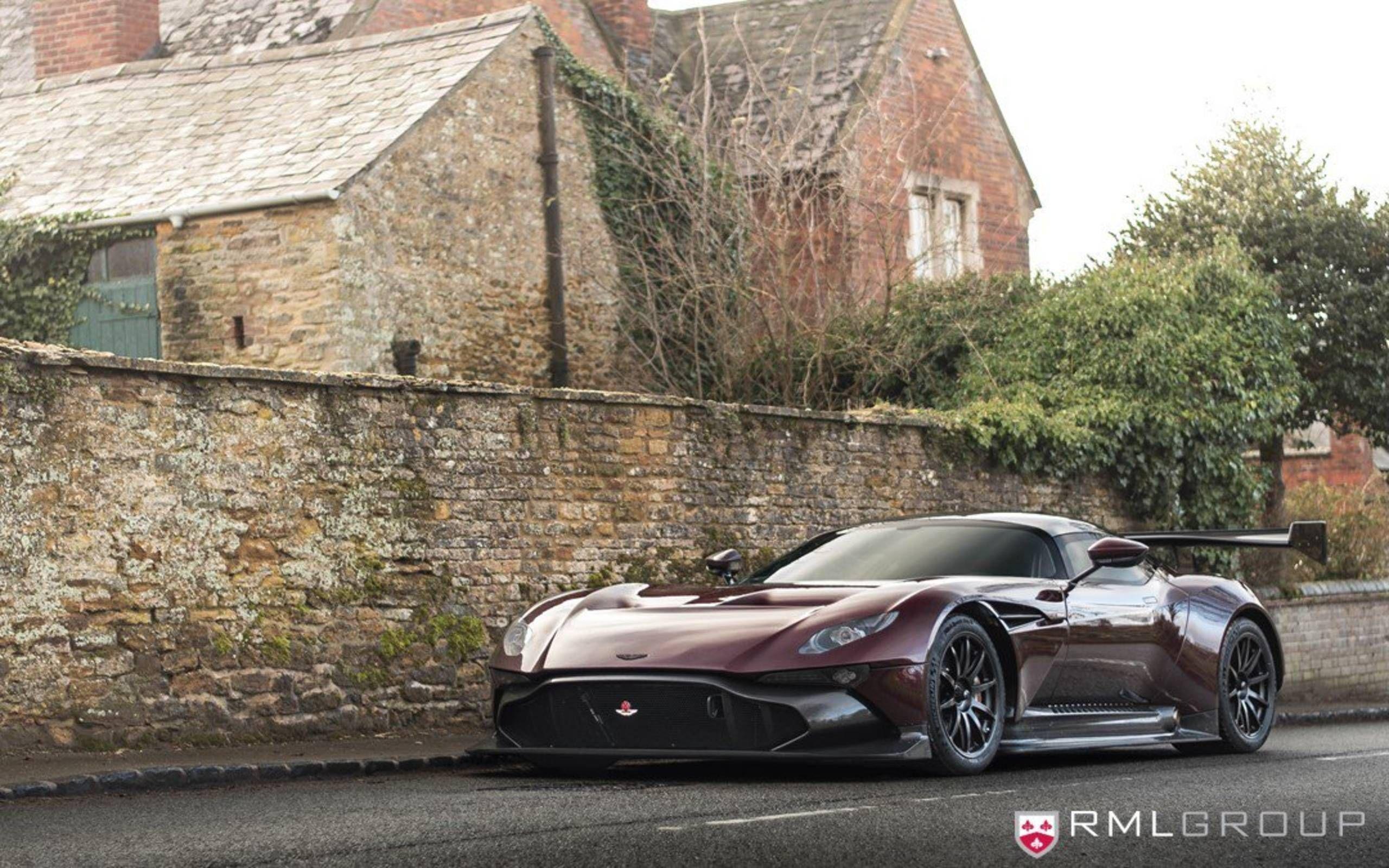 World S First Aston Martin Vulcan Made Street Legal In Rml Group Conversion