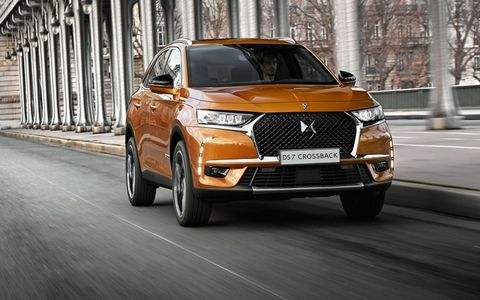 The DS 7 will debut in production form at the Geneva motor show this month.