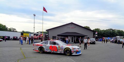 Anthony Alfredo represented Sterling Marlin's 'Silver Bullet'
