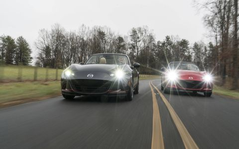 """Long Road Racing offers what it calls the """"Ultimate MX-5"""" -- a race-bred package for today's ND MX-5."""