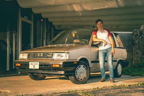 1988 Nissan Stanza Wagon