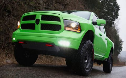 Check out Prefix's crazy interpretation of the Ram pickup truck.
