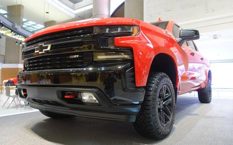 The 2019 Chevy Silverado will be available with six engine/transmission combinations including the new 5.3-liter and 6.2-liter V8s with Dynamic Fuel Management that actively shuts off any number of cylinders for better gas mileage.