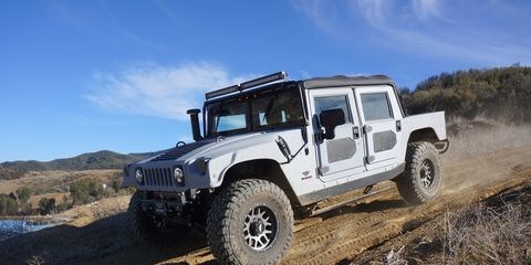 """Mil-Spec Automotive takes Hummer H1 Alphas and """"re-envisions"""" them with better components. Prices start at over $200,000."""